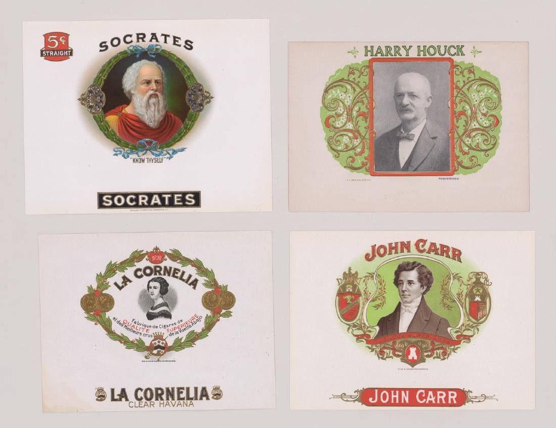 Group of Twenty-Four Cigar Box Labels