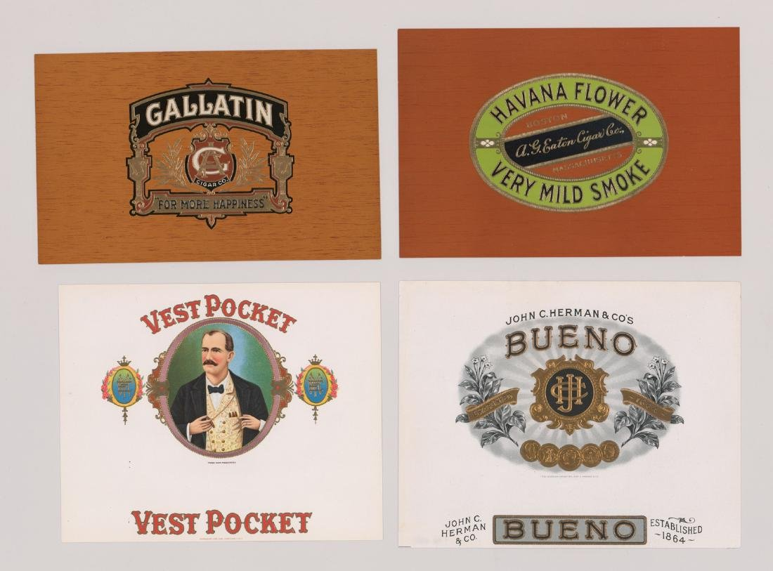 Group of Twenty-Four Cigar Box Labels - 3