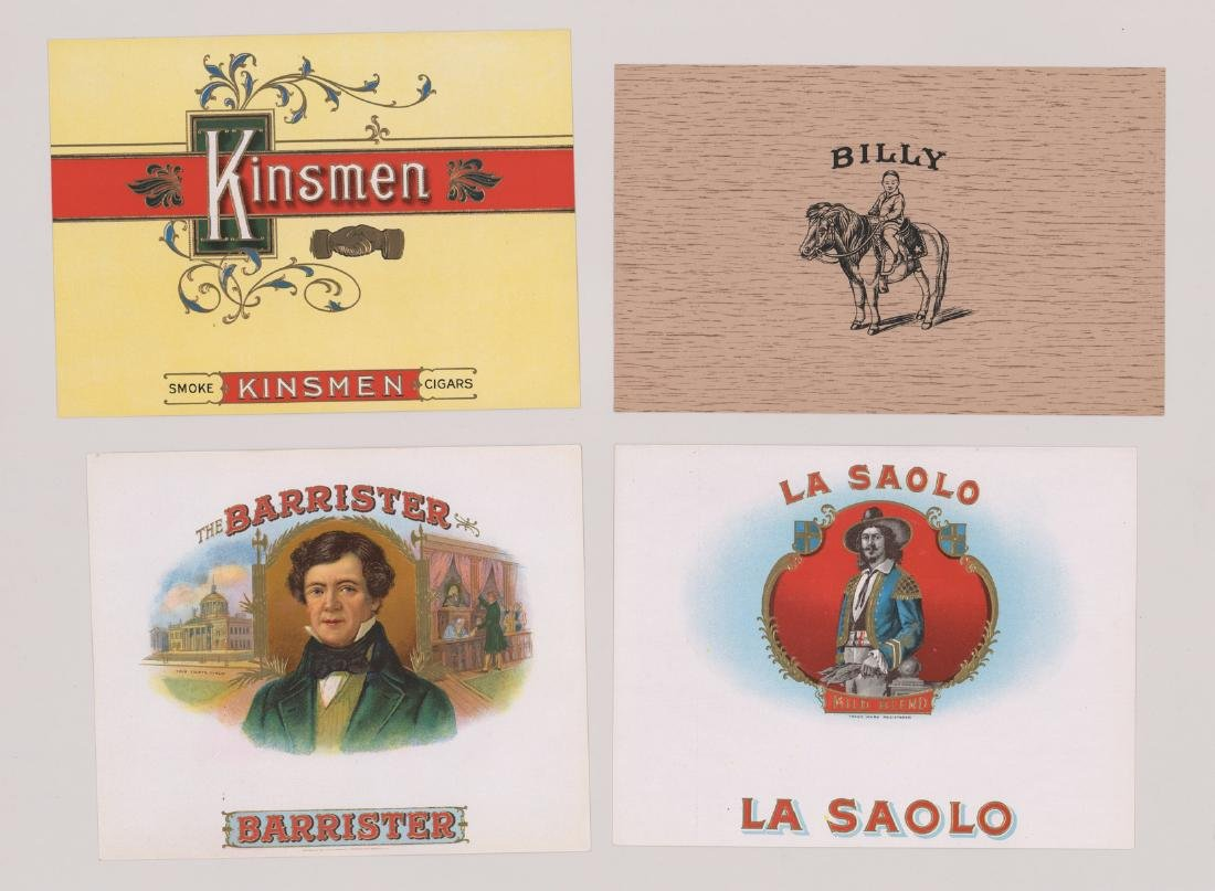 Group of Twenty-Four Cigar Box Labels - 5