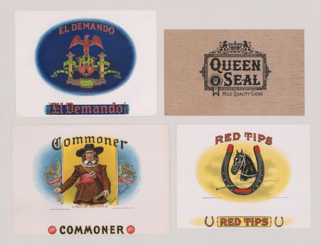 Group of Twenty-Four Cigar Box Labels - 6