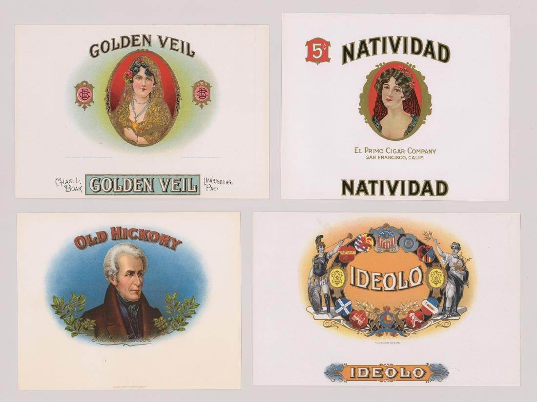 Group of Twenty-Four Cigar Box Labels - 2