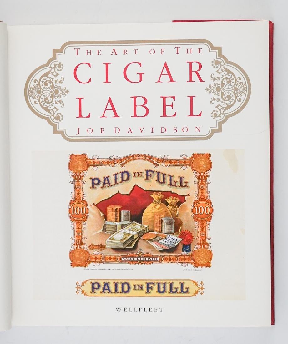 Three Cigar Box Label Collector Hardcover Books - 3