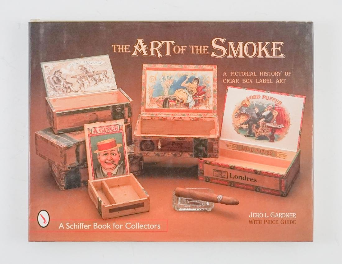 Three Cigar Box Label Collector Hardcover Books - 5