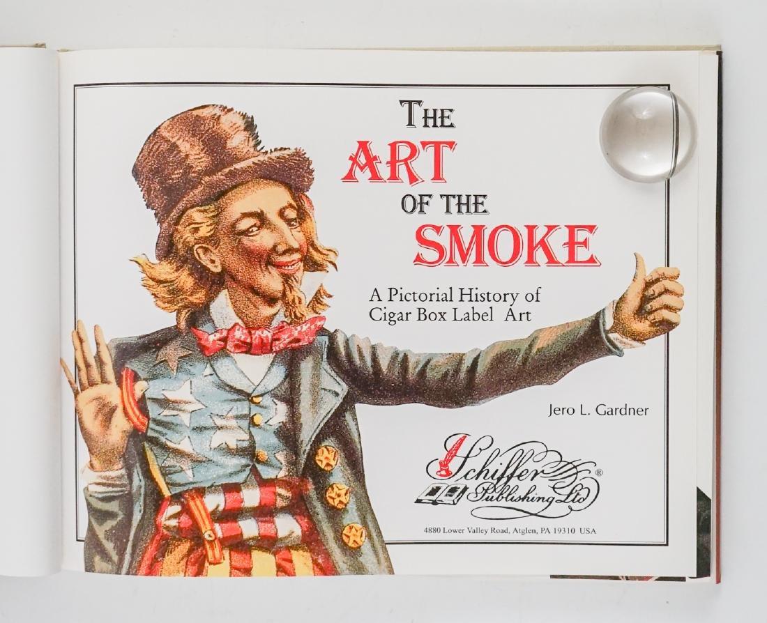 Three Cigar Box Label Collector Hardcover Books - 6