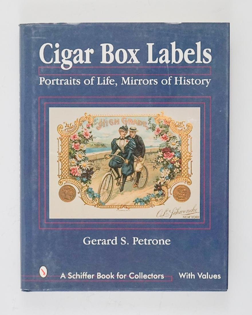 Three Cigar Box Label Collector Hardcover Books - 7
