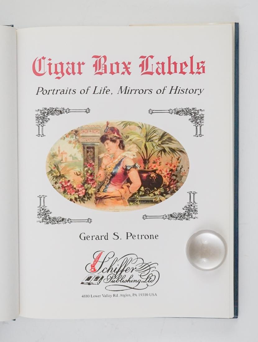 Three Cigar Box Label Collector Hardcover Books - 8