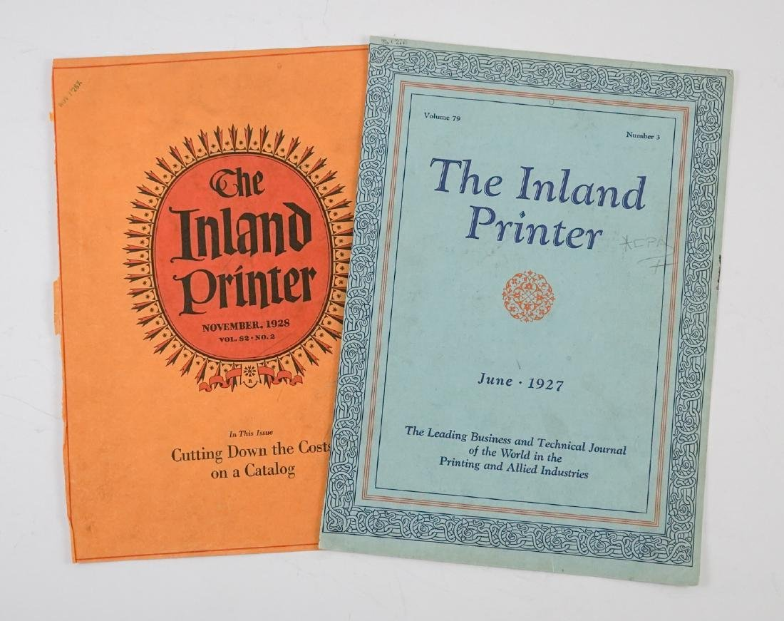 Antique Printers Sample Books and more - 4