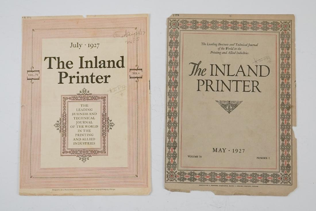 Antique Printers Sample Books and more - 5