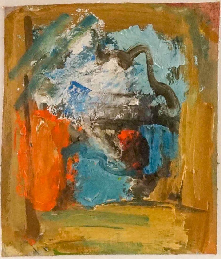 Eugene Pizzuto (Washington 1925-2004) Framed Oil