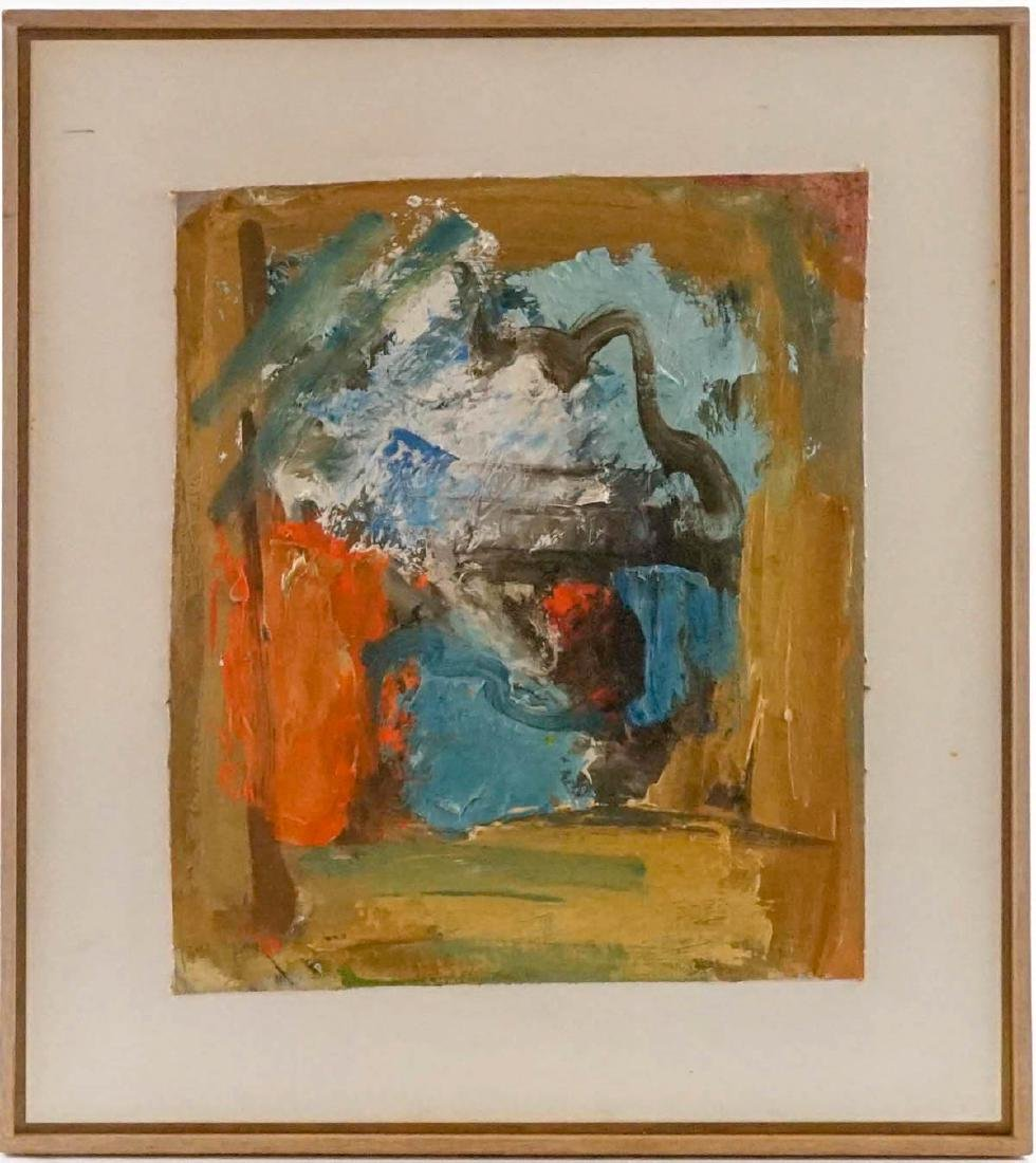 Eugene Pizzuto (Washington 1925-2004) Framed Oil - 2