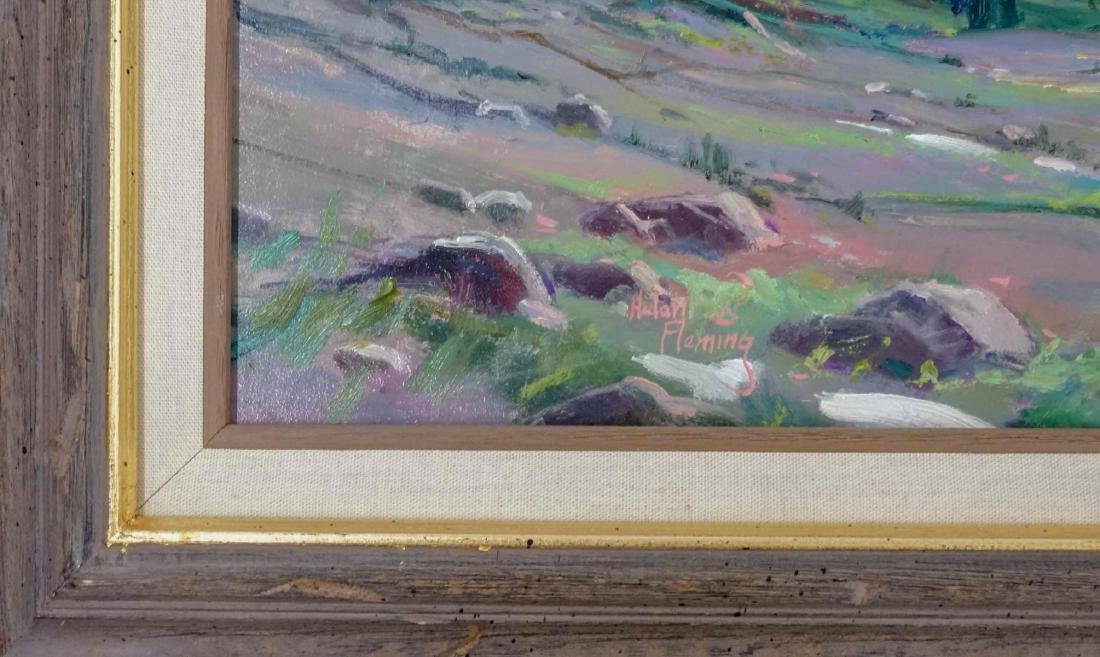 Hulan Fleming (born 1933) Framed Oil - 3