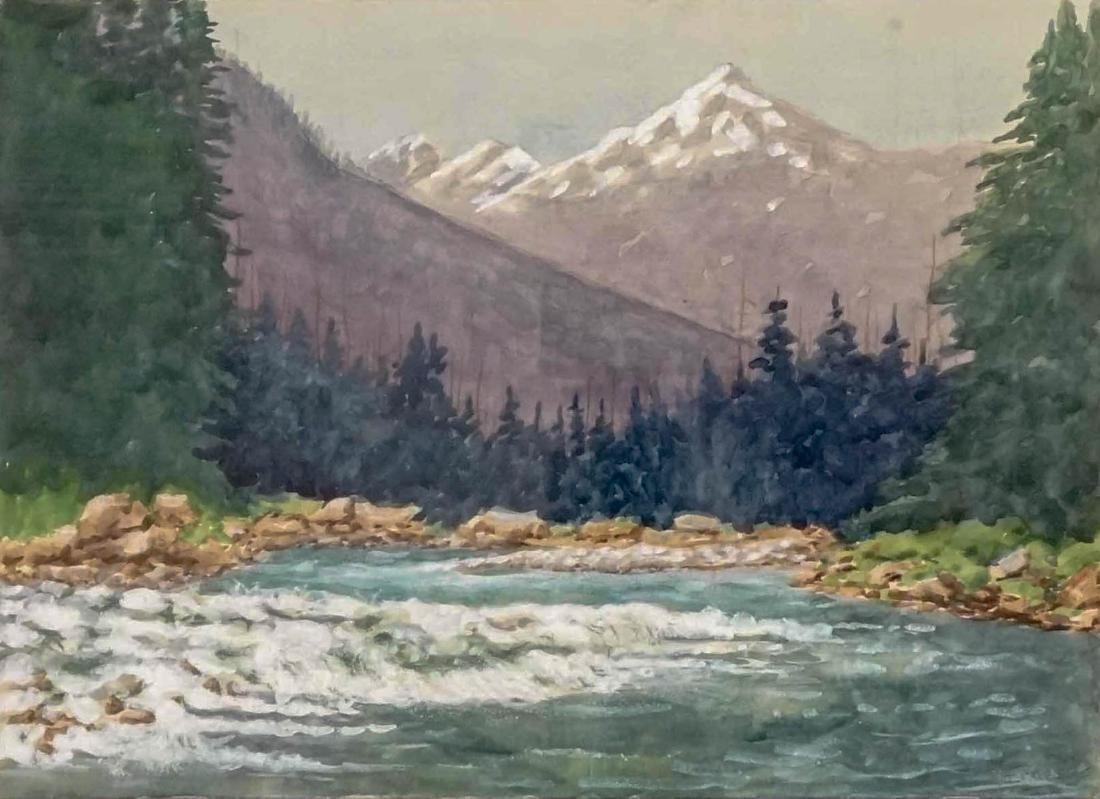 Richard Ernesti (Colorado, Washington 1856 - 1946)