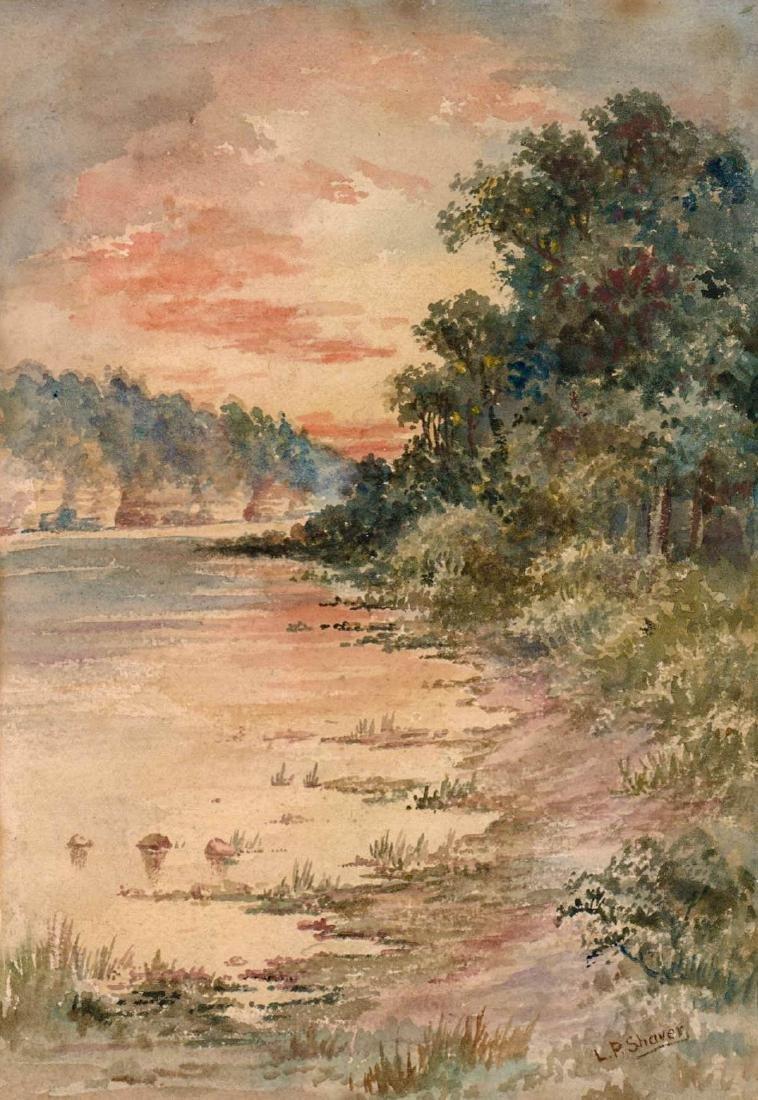 L.P. Shaver Watercolor