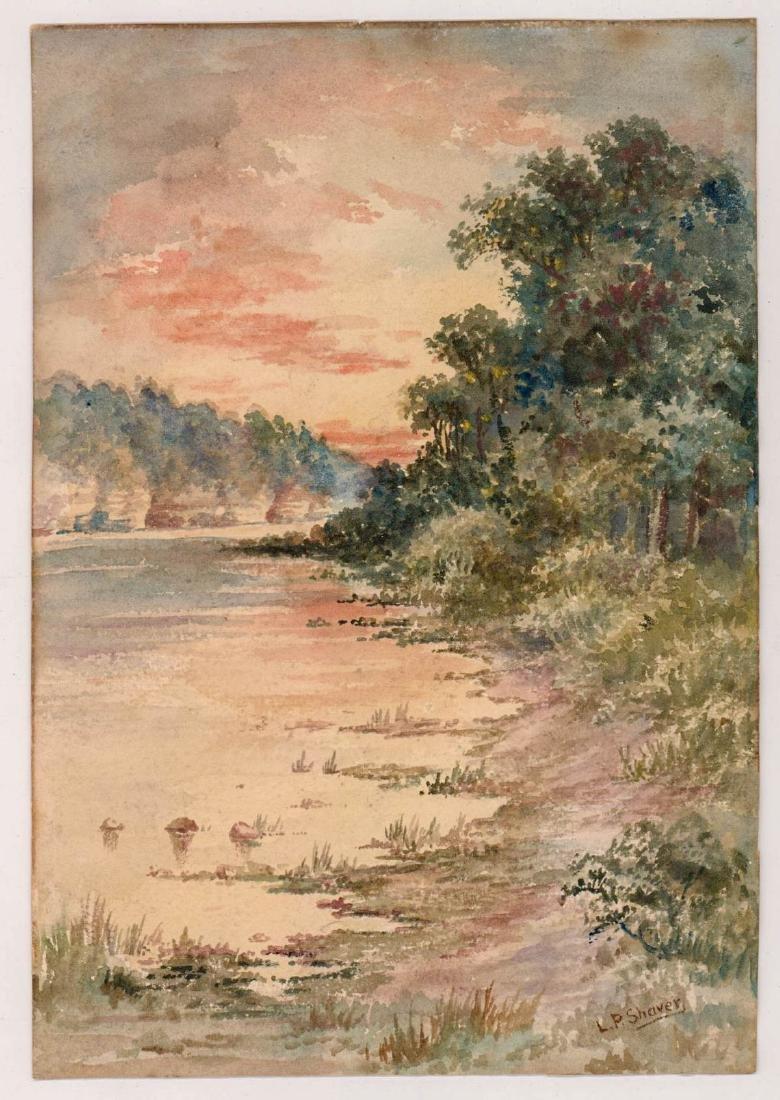 L.P. Shaver Watercolor - 2