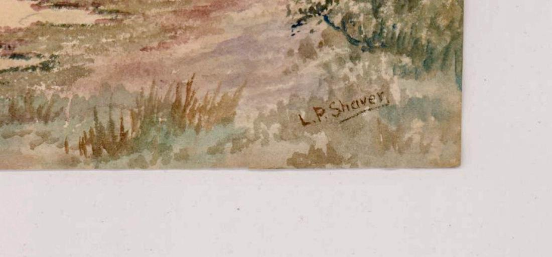 L.P. Shaver Watercolor - 3