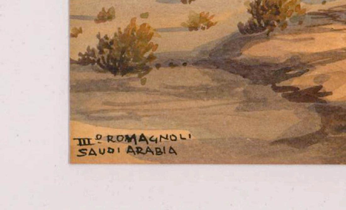 Giovanni Romagnoli (1893-1976) Watercolor - 3