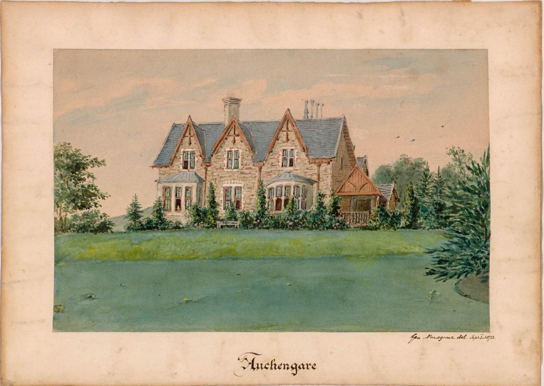 George Musgrave (born 1799) Original Watercolor - 2