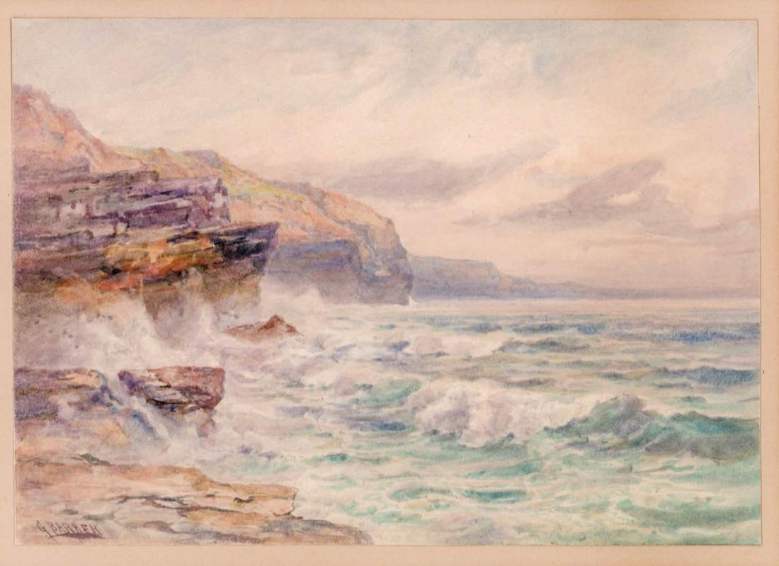 George Barker (Maryland born 1908) Watercolor