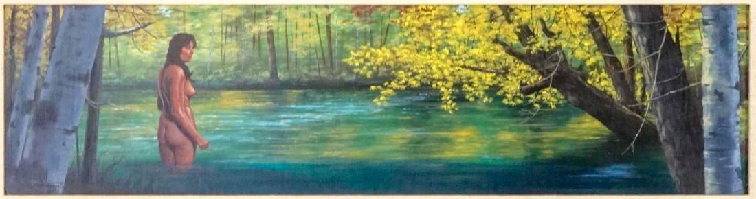 Hal Sutherland Oil Painting