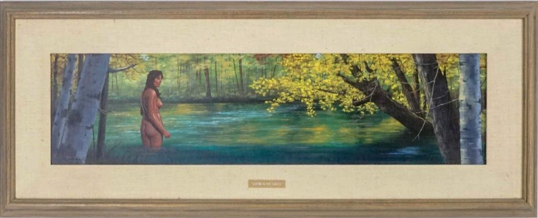Hal Sutherland Oil Painting - 2