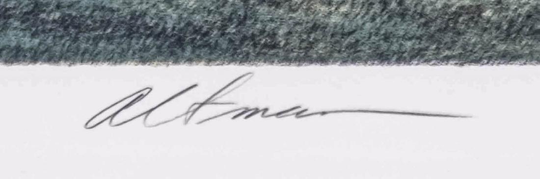 Harold Altman Signed Lithograph - 3