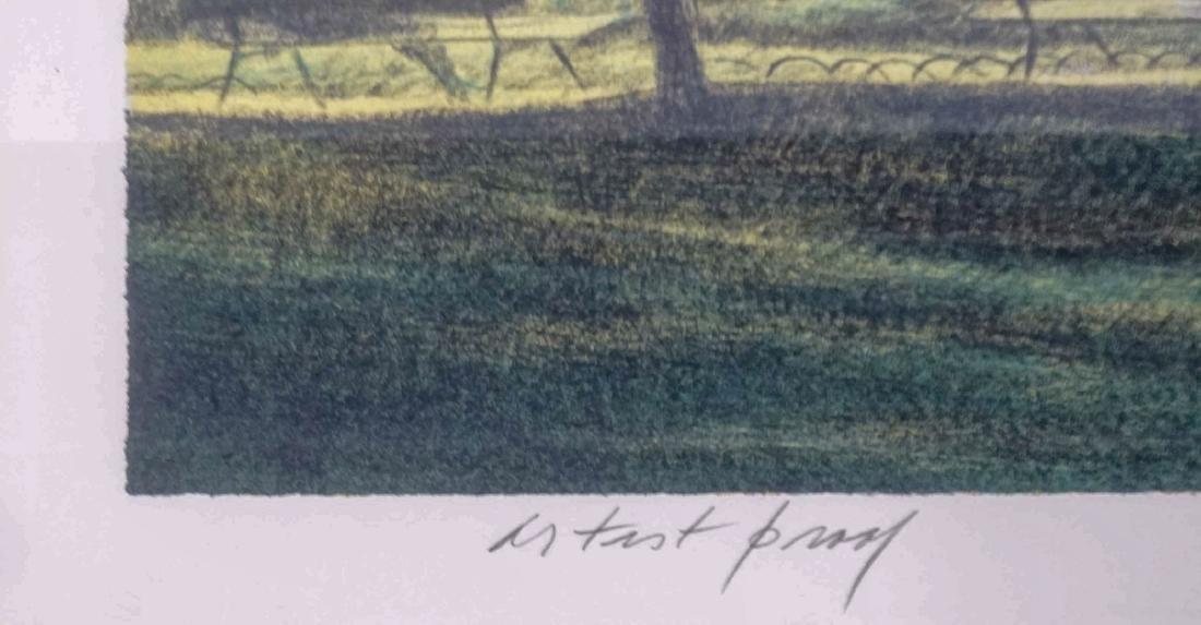 Harold Altman Signed Lithograph - 5