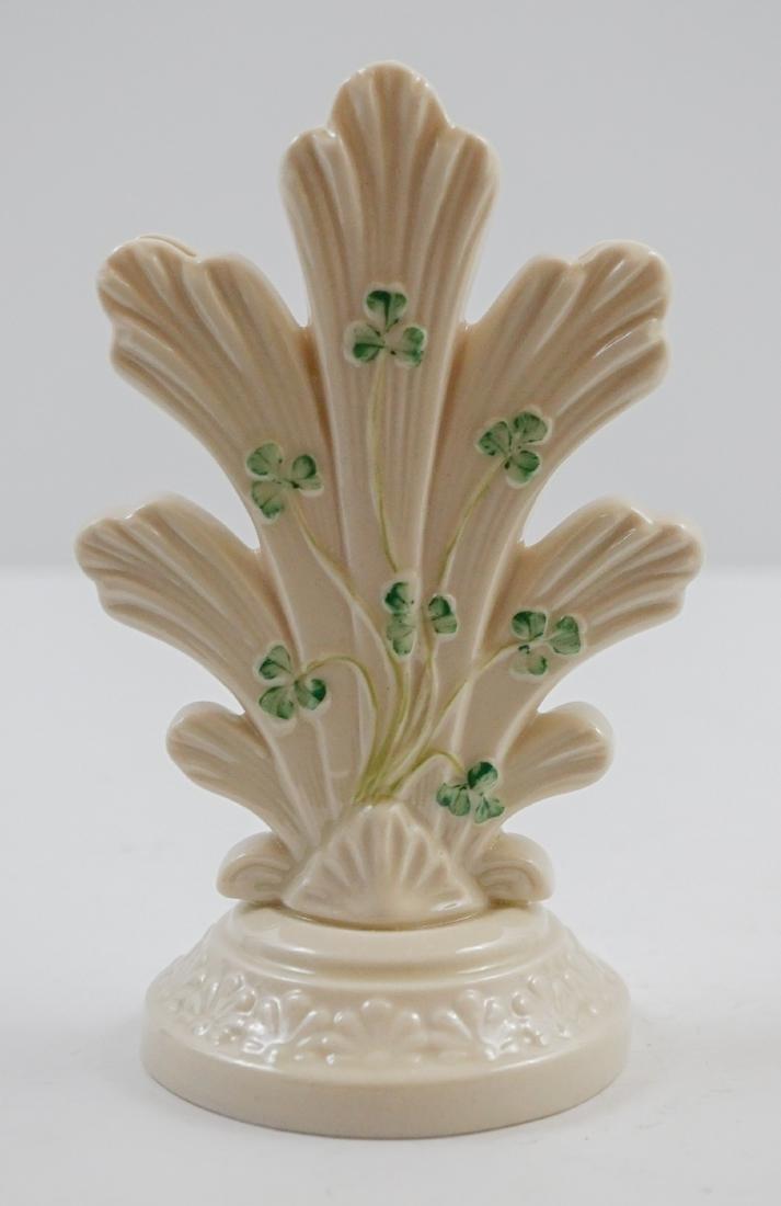 Five Belleek Vases - 3