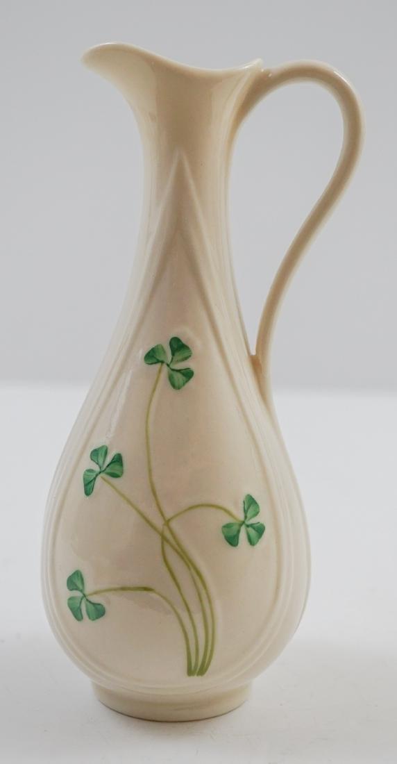 Five Belleek Vases - 4