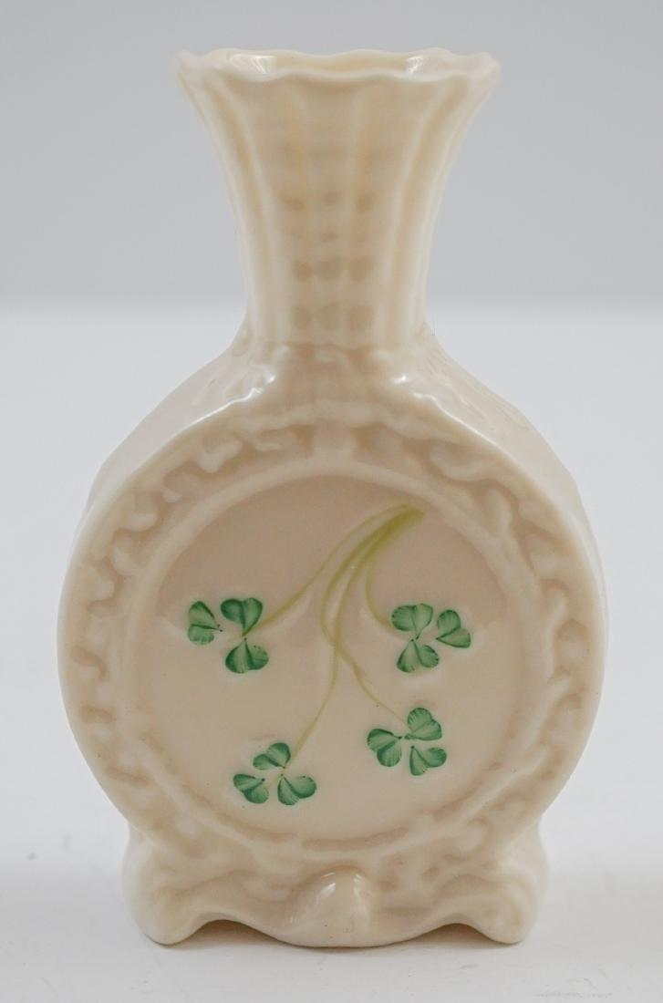 Five Belleek Vases - 5