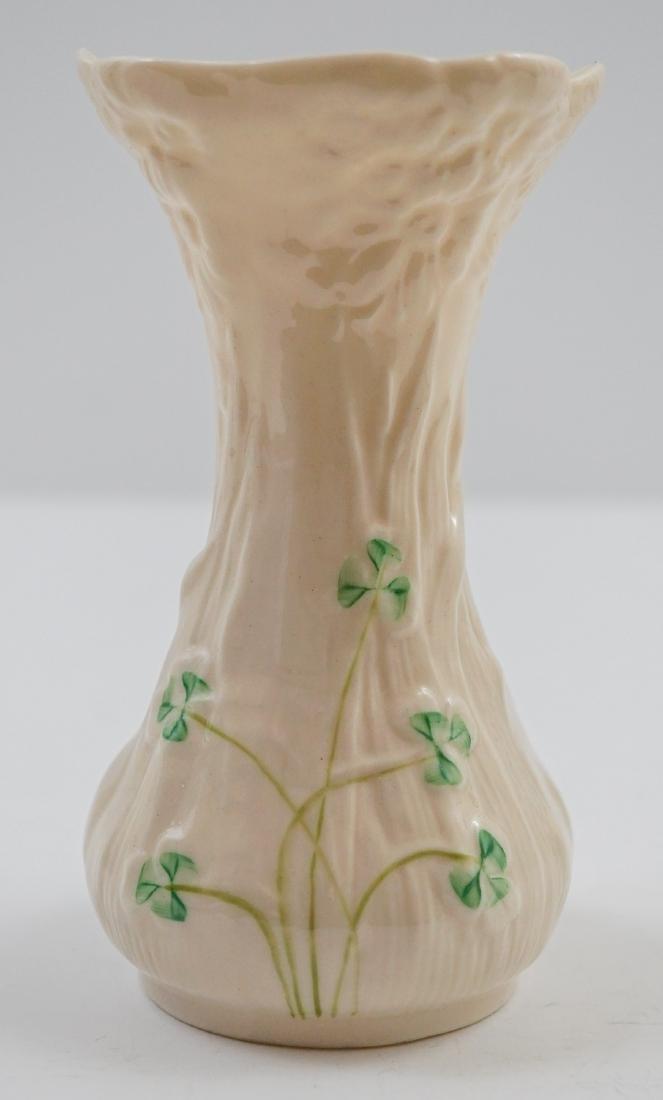 Five Belleek Vases - 6