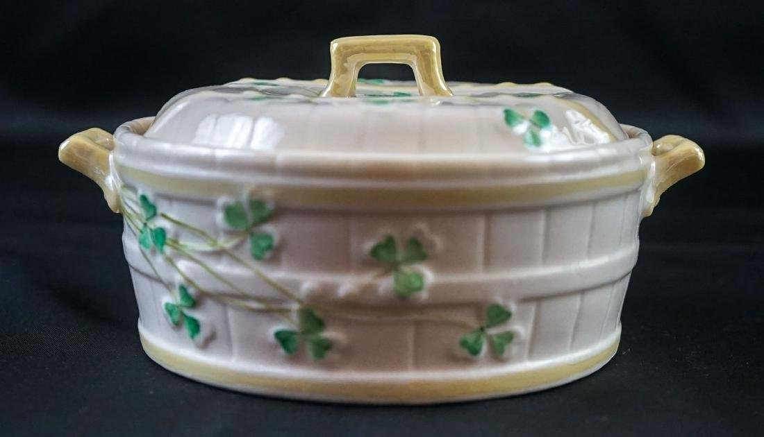 Two Belleek Covered Shamrock Pieces - 10