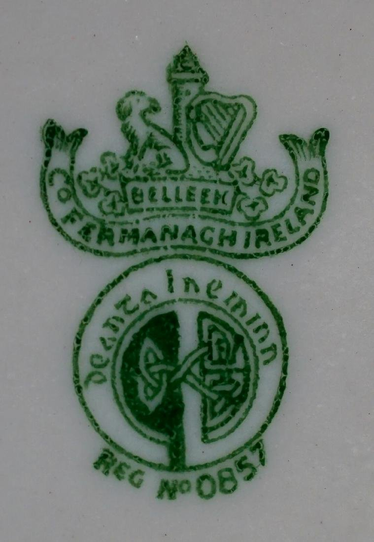 Two Belleek Covered Shamrock Pieces - 7
