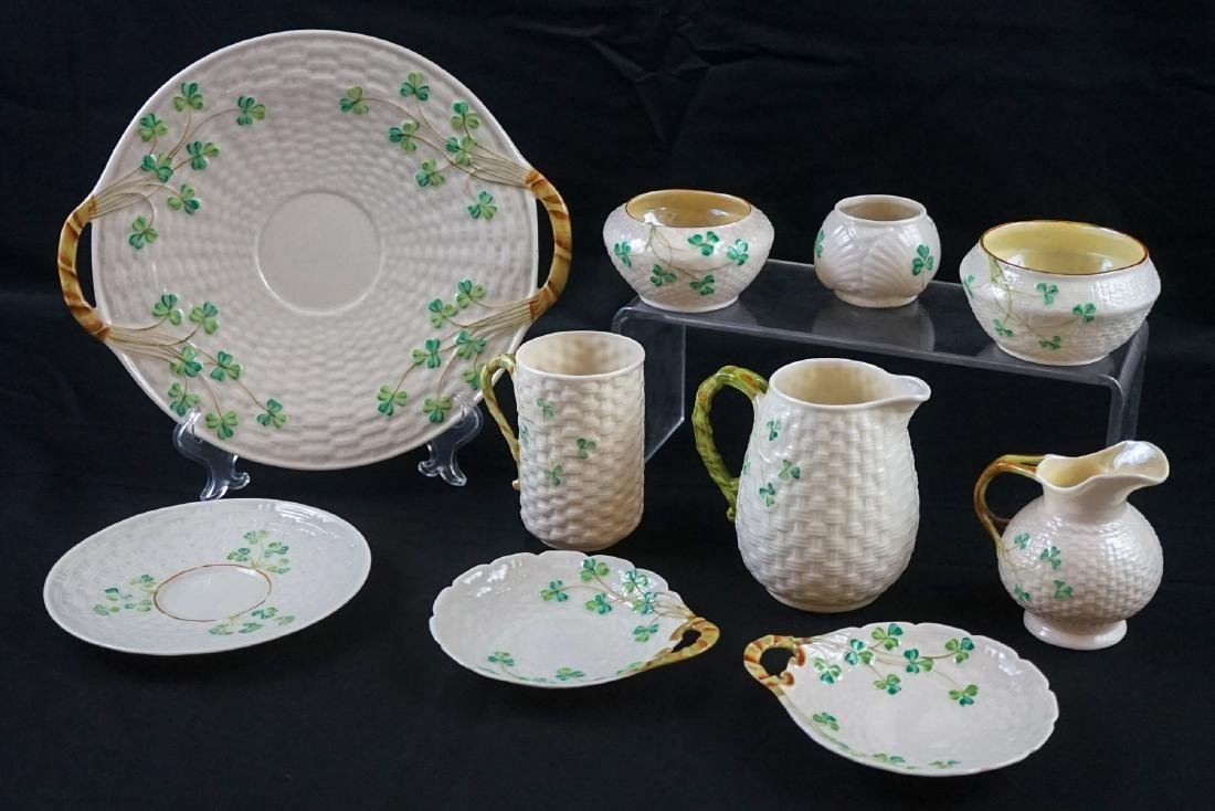 Group of Belleek China