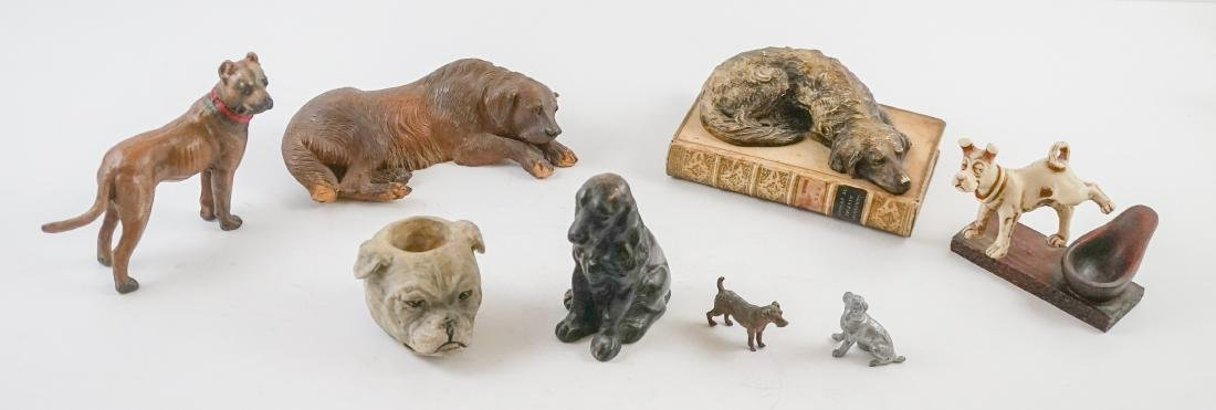 Group of Dog Figurines