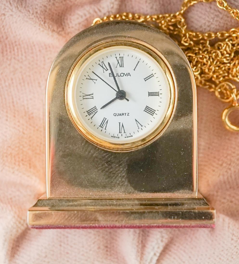 Miniature Clocks by Natico and Bulova - 3