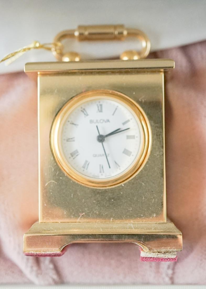 Miniature Clocks by Natico and Bulova - 5