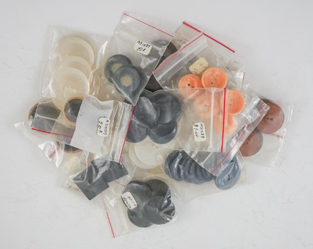 Old Buttons and Asian Items - 6