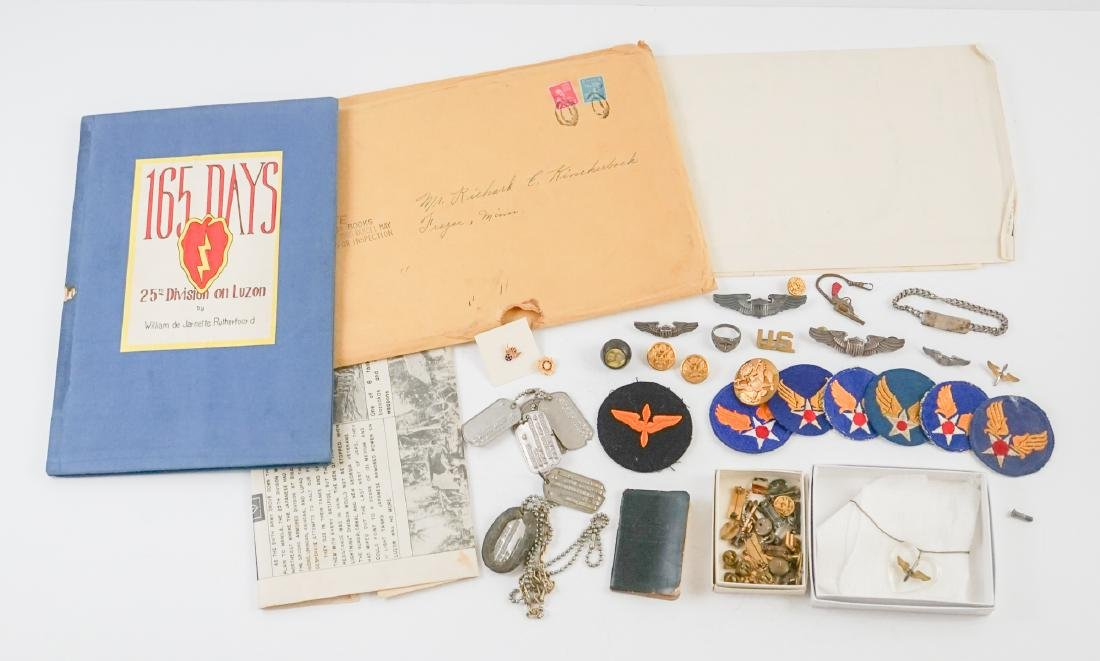 WWII Personal Items of Richard E. Knickerbocker