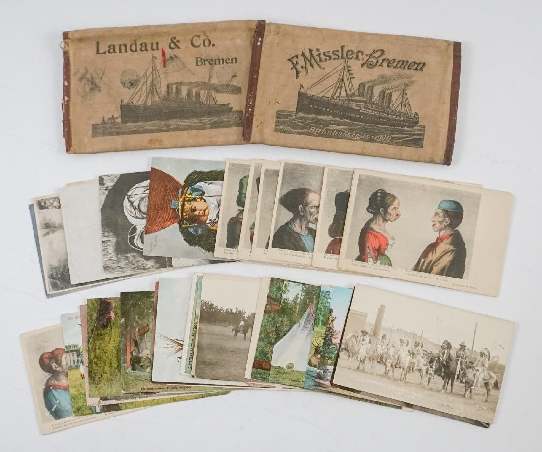Native American Postcards, Passport Cases