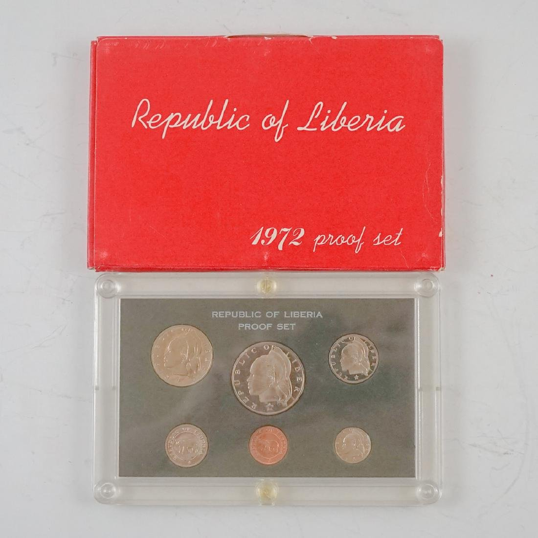 Nine Liberian Proof Sets 1969-1974 - 10