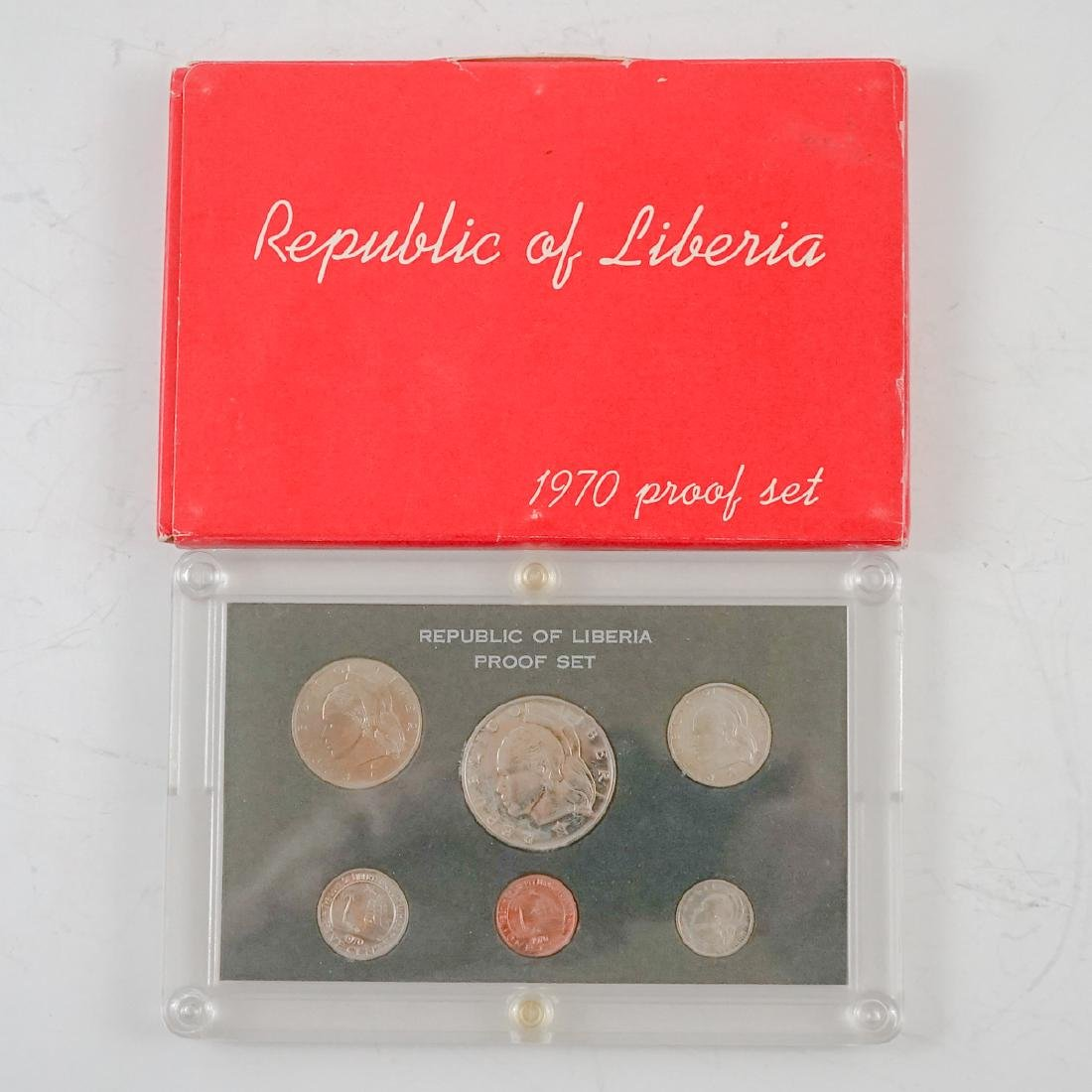 Nine Liberian Proof Sets 1969-1974 - 7
