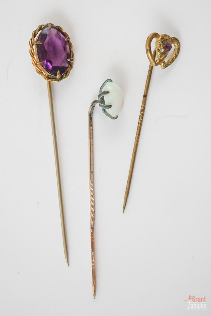 Group of Antique Stick Pins - 3