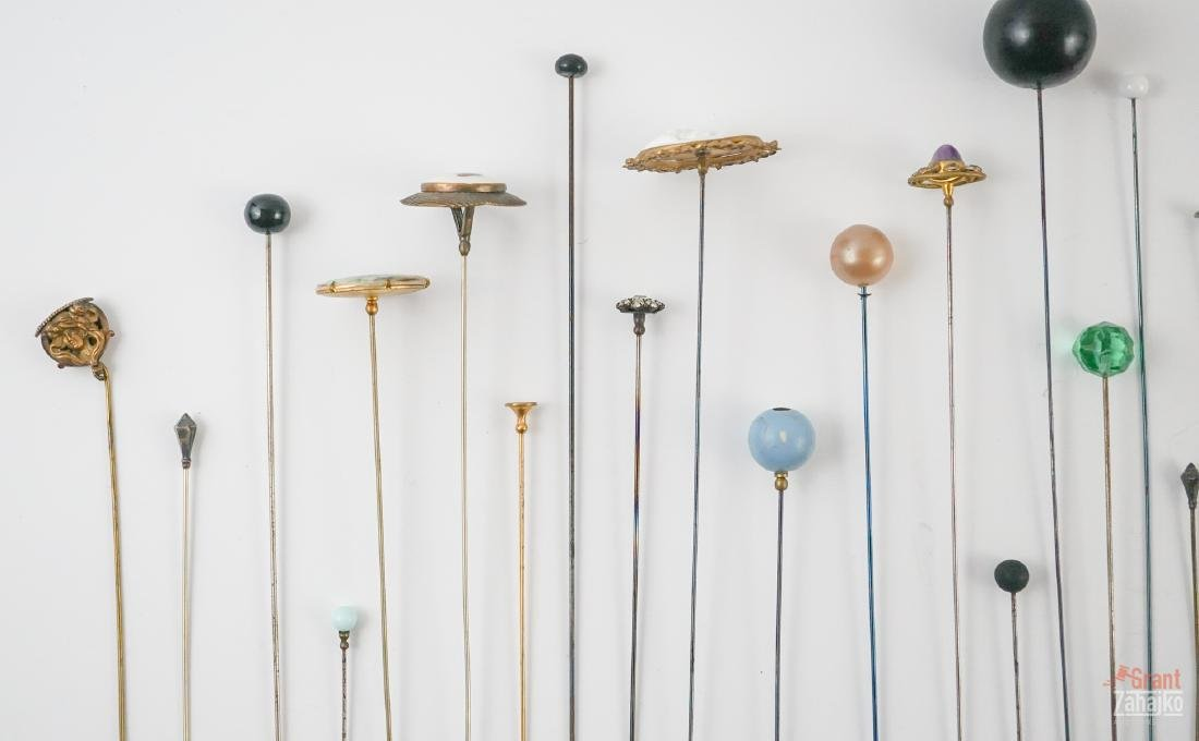 Thirty Antique Hat Pins - 2