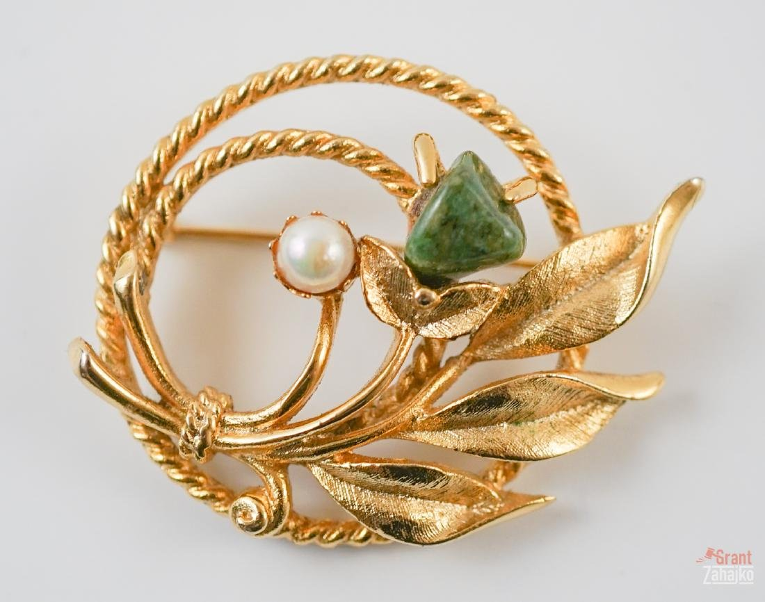 Estate Jewelry Group of Gold, Silver & Costume - 5