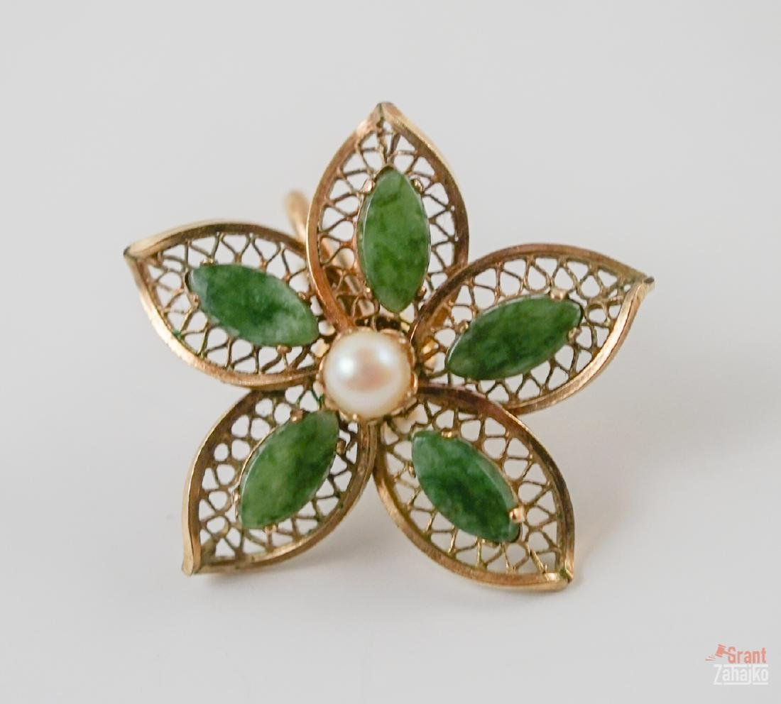 Estate Jewelry Group of Gold, Silver & Costume - 7