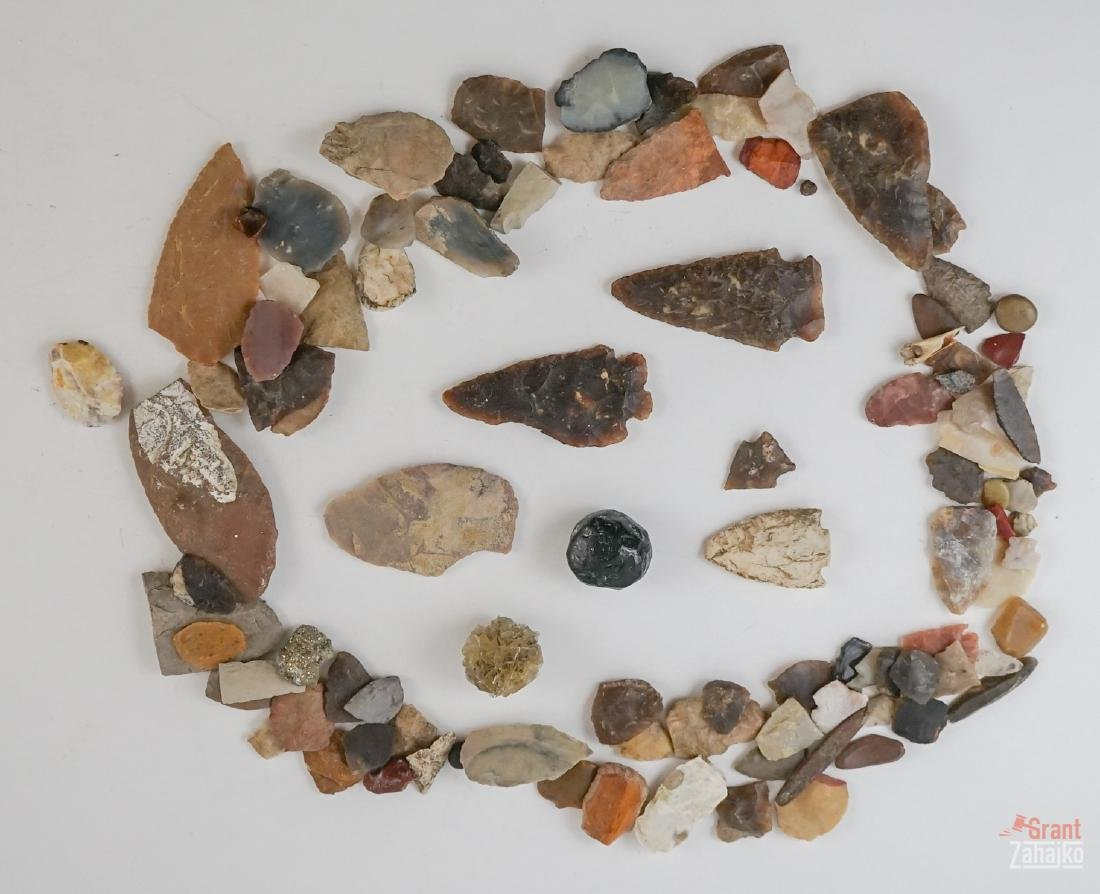 Arrowheads from Kalispell, Montana Collection