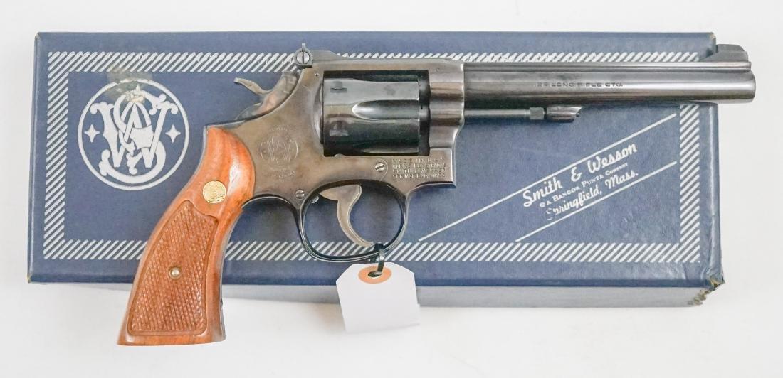 Smith & Wesson Model 17-3 .22 Revolver