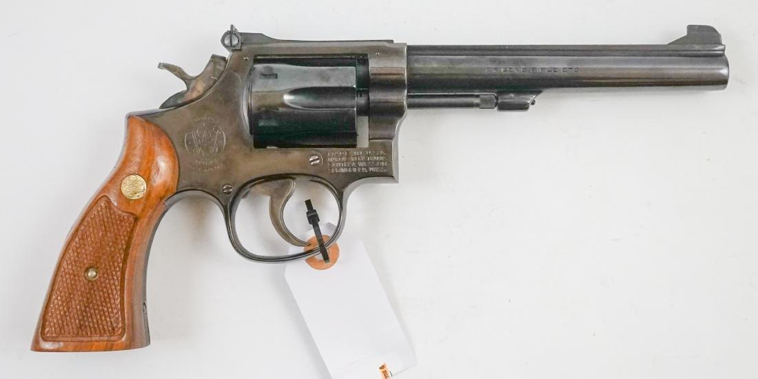 Smith & Wesson Model 17-3 .22 Revolver - 3