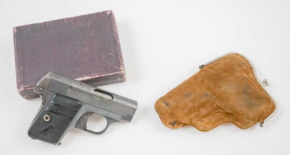 Colt .25 Pistol with Box