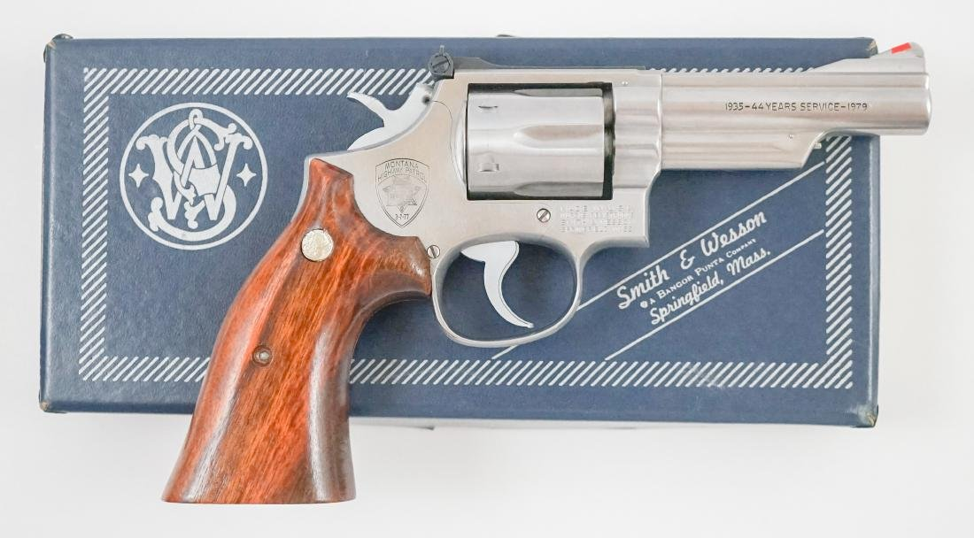 Smith & Wesson Model 66 .357 Police Issue - 2